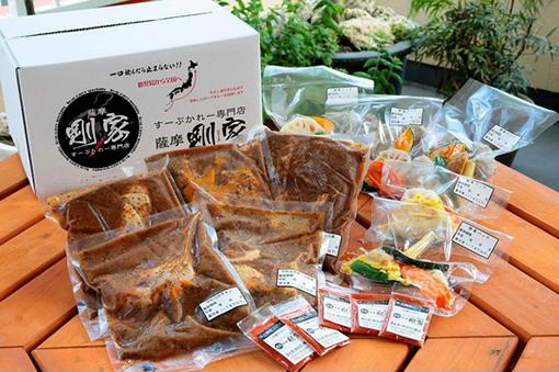 鹿児島県_冷凍通販食品ラベルシール使用写真